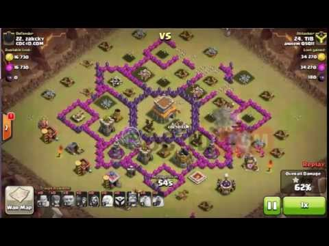Base Coc Th 7 Terkuat War 9