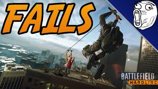 battlefield hardline fails 1 bfh funny moments worst gunfights