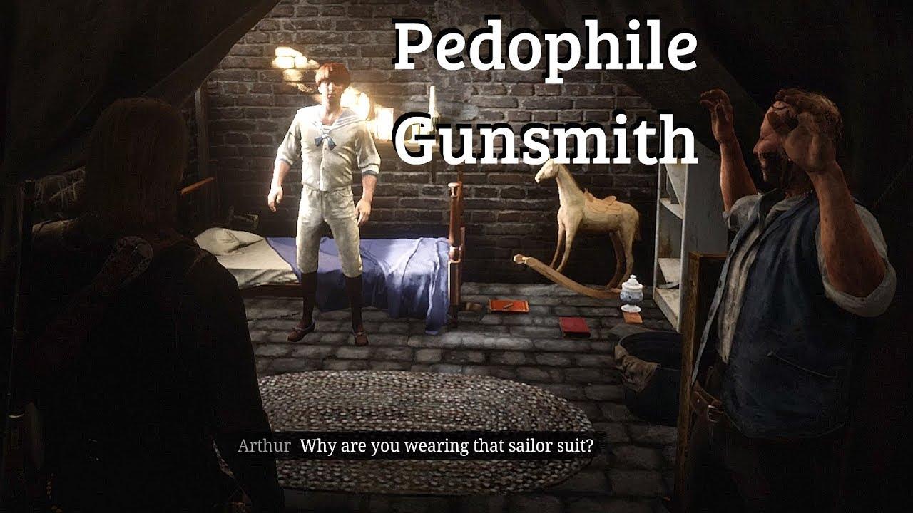 Red Dead Redemption 2 Saving Kid Held Captive By Pedo Gun Store