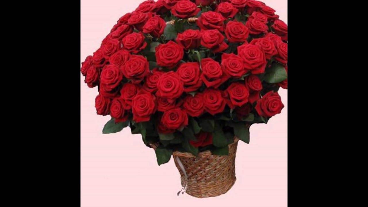 Цветы оптом в славянске на кубани, букет красный