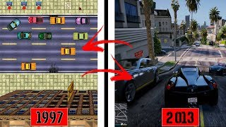 A EVOLUÇÃO DO GRAND THEFT AUTO - GTA