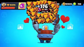 700 DARRYL + DREAM MAP in BrawlStars