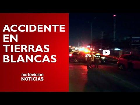 ACCIDENTE EN PELIGROSO CRUCE / TIERRAS BLANCAS