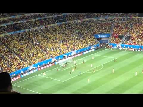 Brazil v Cameroon 4-1 FIFA World Cup 23-06-2013 Fred 49'
