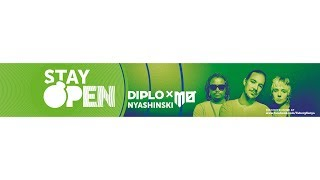 Diplo & MØ - Stay Open [Feat. Nyashinski] (Official Lyric Video) [SMS 'Skiza 7500477' to 811]