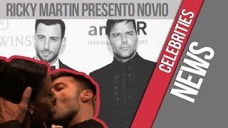 Ricky Martin presentó a su novio en sociedad  y besó a una fanática