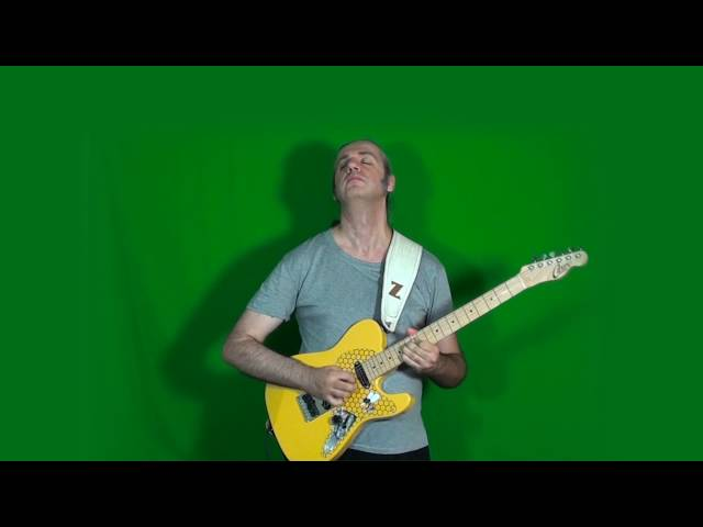 MARCELLO ZAPPATORE plays GARY MOORE's solo on I AIN'T GOT YOU