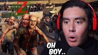 SO I TOOK MY GIRLFRIEND TO JAPAN DURING A ZOMBIE APOCALYPSE | World War Z (Undead Sea Update)