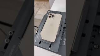 iPhone 12 Pro Max Back Glass Repair #Shorts #OddlySatisfying #iPhoneRepair #teletouch