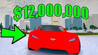 BUYING THE NEW 12 MILLION DOLLAR TESLA (Roblox Vehicle Simulator)