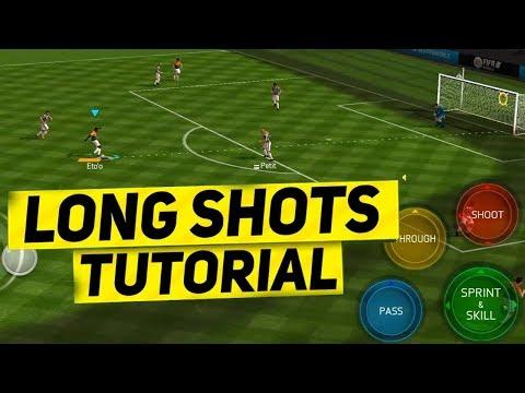 BEST FIFA MOBILE LONGSHOT TUTORIAL !  HOW TO SCORE EVERY LONGSHOT !