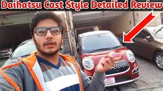 Daihatsu Cast Style Turbo G Detailed Review:Price Specs And Features - Best 660cc Car???-