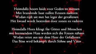 Heidevolk - Levenslot (german subtitles)