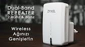 Zyxel WRE2206 Wireless N300 Range Extender - YouTube