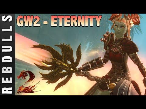 Guild Wars 2: Legendary Weapon ETERNITY - Appearance | Footfalls | Sound Effects
