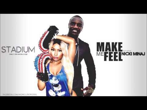 Akon - Make Me Feel (Feat. Nicki Minaj)  [2017] -