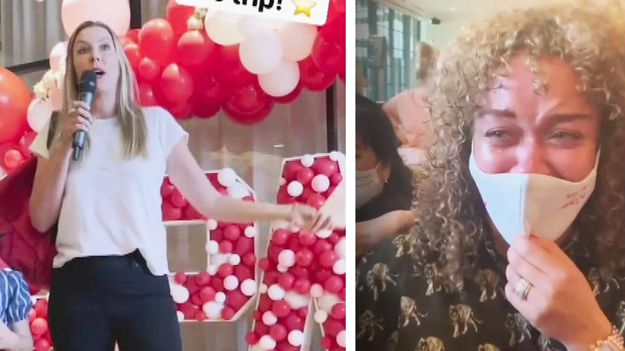 Spanx CEO surprises employees with 2 first-class plane tickets and ...