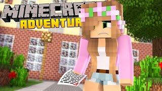 Minecraft School - LITTLE KELLY FAILS HER EXAM!