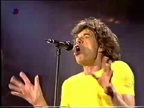 ROLLING STONES  PAINT IT BLACK LIVE  1998 BRIDGES TO BABYLON TOUR