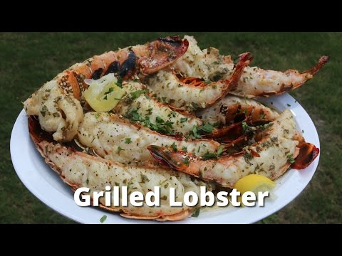 Grilled Lobster Tail | Recipe for Lobster on the Grill by Malcom Reed HowToBBQRIght