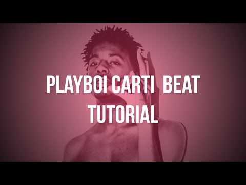 How to make a Playboi Carti Type Beat (FL Studio 12)