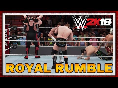 WWE 2K18 - 30 Man Royal Rumble Match (NEW & IMPROVED)
