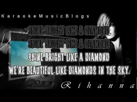 Rihanna - Diamonds Karaoke / Instrumental HD