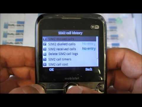 Unboxing video of Mobistel EL560 DUAL-SIM QWERTY WIFI phone