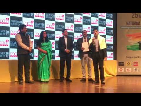 Mr. Arpit Chadha, Vice Chairman, I.T S Group receives Award of Newspaper Association of India