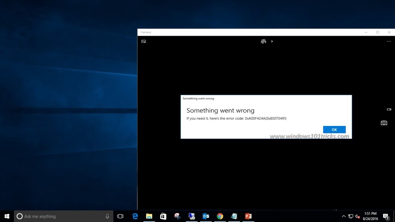 Fix the webcam freezing and crashing issue on the Windows 10 Anniversary  Update