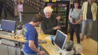 Kevin the Cashier at the Last Blockbuster