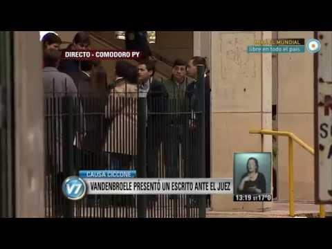Visión 7 - Causa ex Ciccone: Vandenbroele presentó un escrito ante el juez