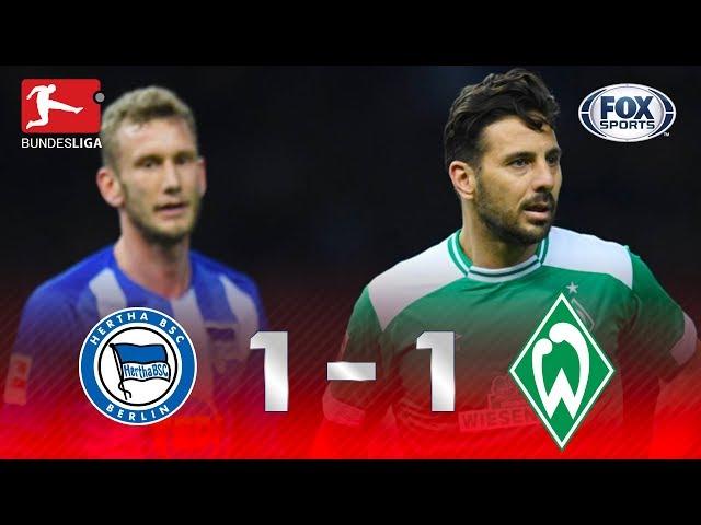 Hertha Berlin - Werder Bremen [1-1]   GOLES   Jornada 22   Bundesliga