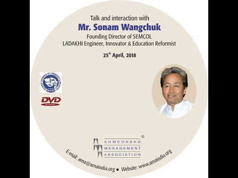 Talk and interaction with Mr. Sonam Wangchuk