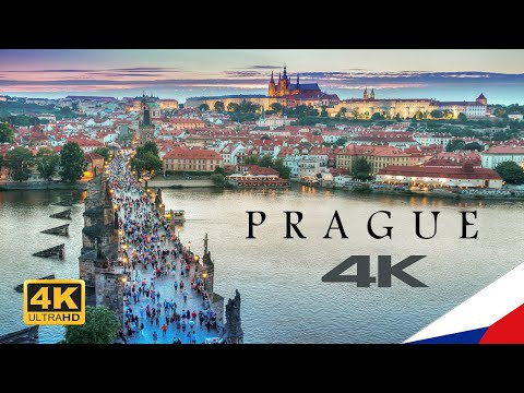 Prague, Czech Republic In 4K 🇨🇿