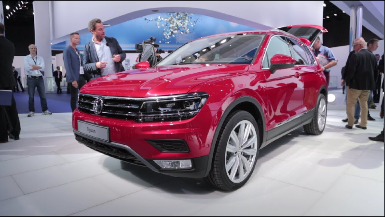 2017 volkswagen tiguan 2015 frankfurt motor show youtube. Black Bedroom Furniture Sets. Home Design Ideas