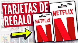 Netflix sin Tarjeta de Credito/Debito - con Tarjeta Regalo Netflix (Canjear Tarjeta Netflix)
