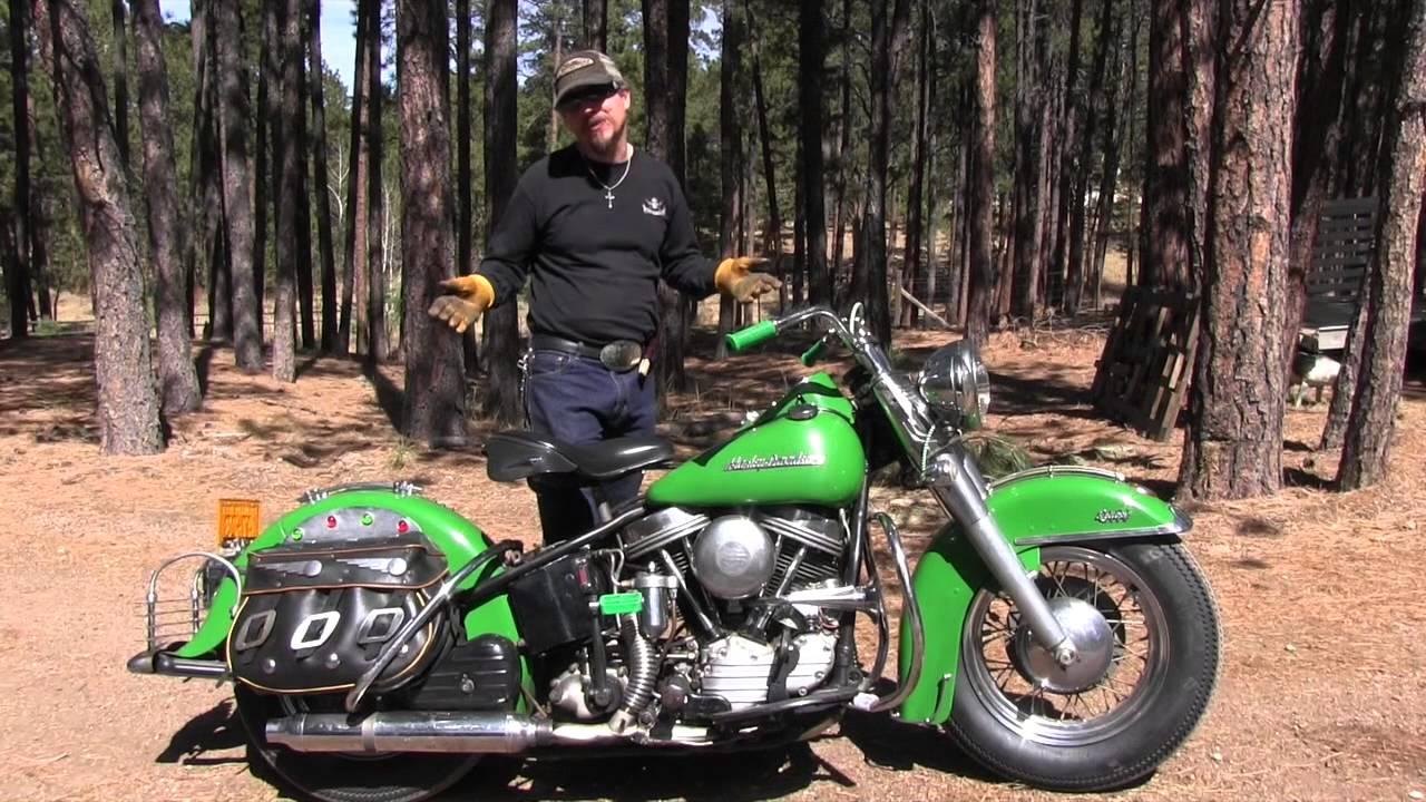 1954 Harley Davidson Fl Panhead