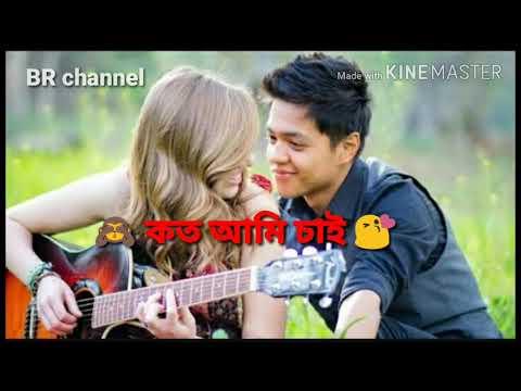 Bojhabo ki kore toke koto ami Chai  । bangla whatsapp Status video ।