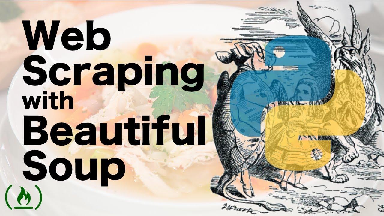 Beautiful Soup Tutorial - Web Scraping in Python - YouTube