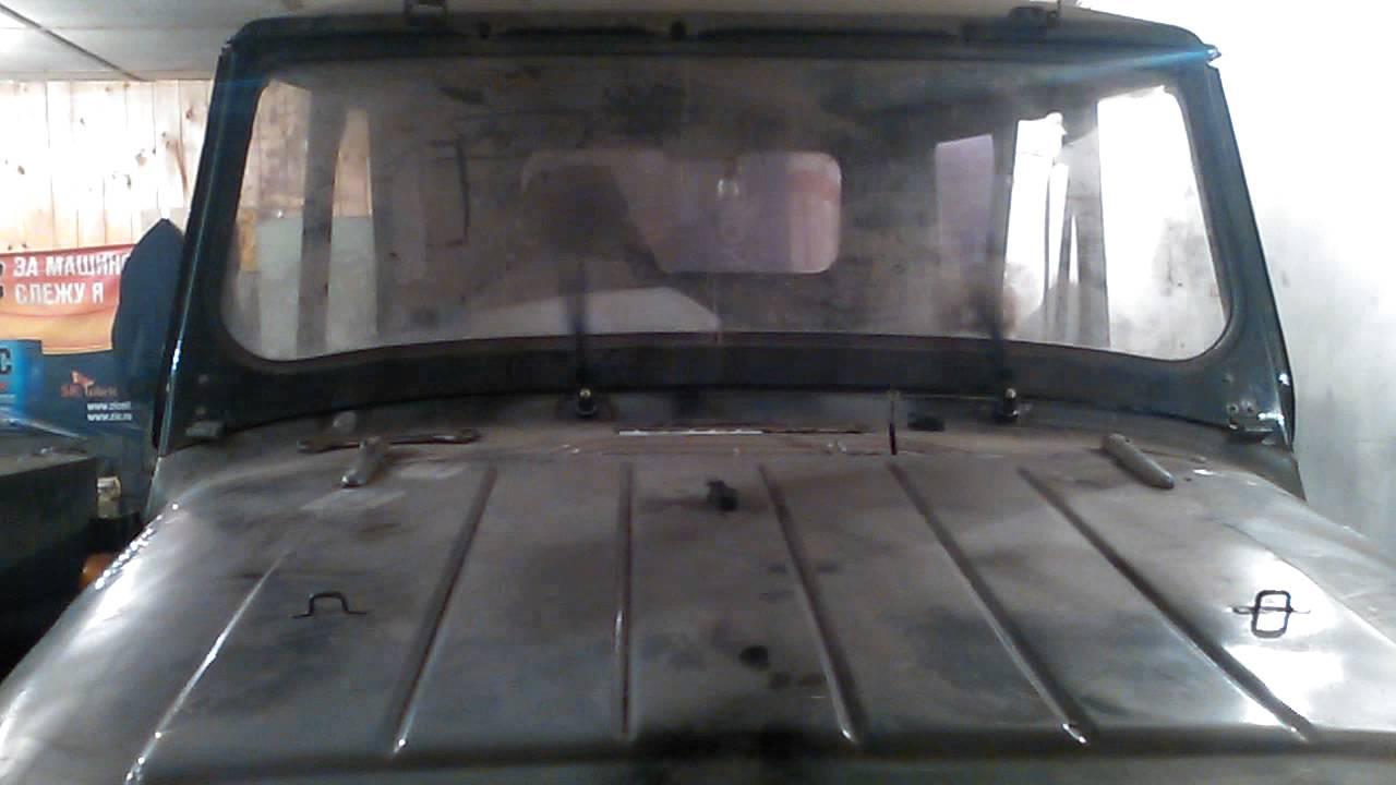 Нижние дворники бортжурнал УАЗ 469 Б Юбиляр 1980 года на