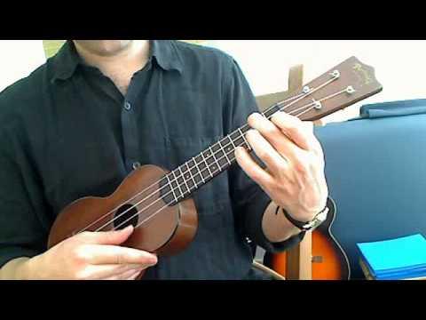 Brahm\'s Lullaby Beginner Ukulele Chord Melody - YouTube