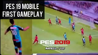 Pes 2019 Mobile Gameplay