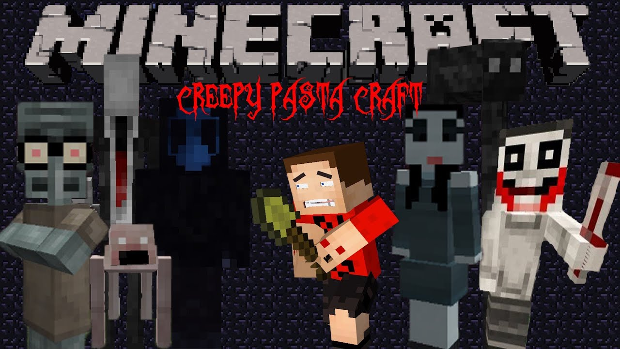 Minecraft Creepypasta Mod Paper Craft