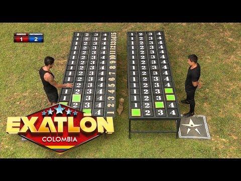 Los famosos logran empatar la prueba   Exatlón Colombia