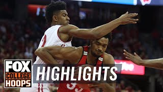 Ohio State vs Wisconsin | Highlights | FOX COLLEGE HOOPS