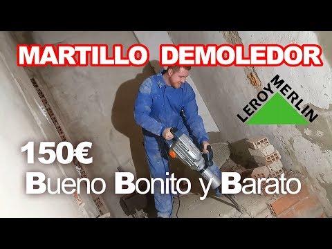 Review de un MARTILLO DEMOLEDOR ECONÓMICO de 150€ del Leroy Merlin | Survival Review Español