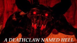 New Vegas Mods A Deathclaw Named Hell