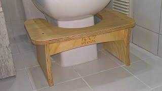 Toot Stool - Making a bathroom footstool