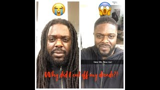MUST SEE | Transformation| The REAL reason why I cut off my dreads!